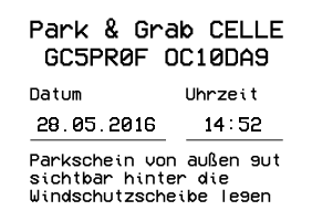 GC5PR0F - Park and Grab CELLE
